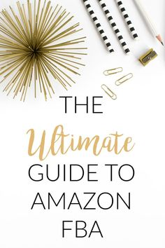 Are you a Savvy Shopper? Want to use your talents to make money from home? The Ultimate Guide To Amazon FBA gives you all the details for this super rewarding side hustle. A must read for anyone considering selling on Amazon!