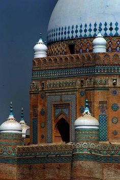 Multan, Pakistan City of Saints. Vibrant colors and majestic.