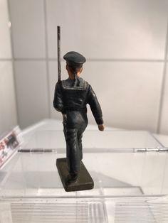 Lineol 7cm Serie Massefigur Marine Soldat gehend Militär Nr.61 | eBay