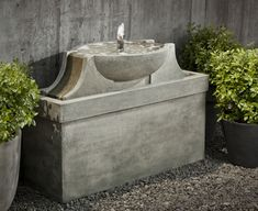 Delphi cast stone Fountain made by Campania International