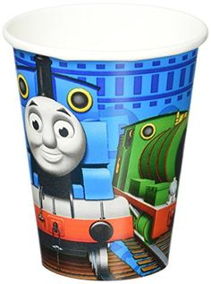 Thomas Full Steam Ahead Beverage Napkins 16 Count