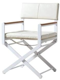 Brayden Studio Ricky Director's Chair Brayden Studio Wood Patio Chairs, Outdoor Chairs, Outdoor Furniture, Outdoor Decor, Sun Chair, Director's Chair, Beach Patio, Single Sofa