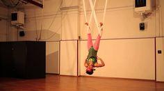 Pinkmary, Circo! acrobata danzatrice su tessuti aerei. Con BigBabol ;)