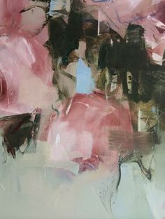 Detail pink Roses - July 2014 - Nicole Pletts - 91x152cm