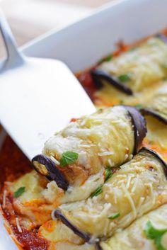 Eggplant Stuffed Shells