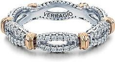 Twisted #wedding #verragio #band Verragio Wedding Bands, Diamond Wedding Bands, Wedding Rings, Eternity Ring Diamond, Anniversary Rings, Jewelry Branding, White Gold, Beaded Bracelets, Engagement Rings
