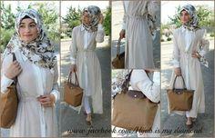 Hijab is my diamond Gold Outfit, Outfit Look, Work Fashion, Hijab Fashion, Modest Fashion, Modele Hijab, Hijab Wear, Islamic Fashion, Turban