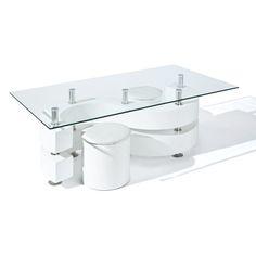 couchtisch weiß hochglanz - designer tisch für das moderne, Wohnzimmer