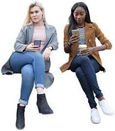 Cut out women friends sitting. Are these people sick? People Cutout, Cut Out People, Photoshop Rendering, Photoshop Elements, Art Poses, Drawing Poses, Render People, People Png, Architecture People