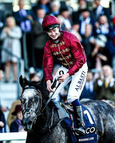 """Kalooki Sportsbook on Instagram: """"The late great Roaring Lion and Oisin Murphy after winning the QEII Stakes in 2018 🦁🙌"""""""