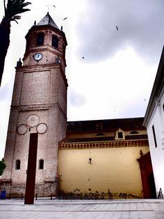 Velez-Málaga. Iglesia de San Juan. Se levantó en 1487 sobre una mezquita preexistente.