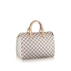 Speedy 30 Damier Azur Canvas - Handbags | LOUIS VUITTON