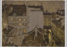 Montmartre in the rain, Pierre Bonnard (1867-1947),