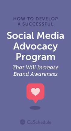 Download our 'Social Media Employee Advocacy Startup Package' https://coschedule.com/blog/social-media-advocacy/?utm_campaign=coschedule&utm_source=pinterest&utm_medium=CoSchedule&utm_content=How%20To%20Develop%20A%20Successful%20Social%20Media%20Advocacy%20Program