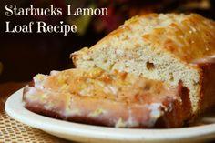 Top Secret (No Longer) Starbucks Lemon Loaf Recipe | SocialMoms Network - Where Influential Women Connect