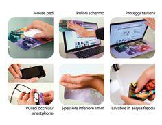 Mouse Pad in Microfibra personalizzato