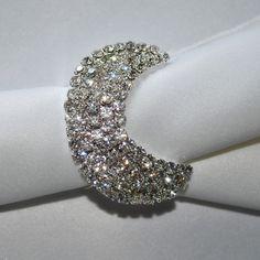 napkin rings   Home / Napkin Rings / Silver Crescent Napkin Ring