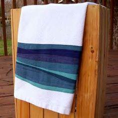free form kitchen towel | quilts | Pinterest