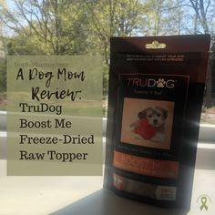 TruDog asked if I'd review their Boost Me Mighty Meaty Beef Booster, a freeze-dried raw topper. Because I love sharing new products with fellow Dog Moms, I agreed. | Read my full Dog Mom Review at Not So Mommy..., a childless dog mom blog. | Raw Dog Food | Raw Feeding Community | Dog Treats | Dog Food | Healthy Dog Food | Dogs | Dog Mom | Dog Moms | Dog Mom Blog | Dog Mom Blogs | Dog Mom Problems | Dog Mom Life | Dog Mommy | Dogs and Puppies | Puppies and Dogs | Dog Nutrition | TruDog | Puppies Cute Puppy Photos, Dog Nutrition, Puppies Puppies, Nutrient Rich Foods, Girl Thinking, Baby Carrots, Freeze Drying, Mom Blogs, Dog Treats