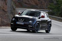 Nissan Juke Nismo, en color negro