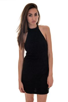 Motel Bohemian Lace Halterneck Missy Dress | Womens Dresses | DIZEN