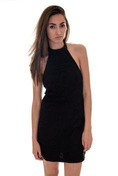 Motel Bohemian Lace Halterneck Missy Dress | Womens Dresses | DIZEN