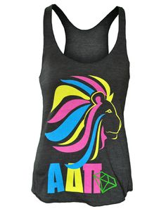 From adamblockdesign. Great colors! ....could do with a multi-colored flamingo and lots of feathers!