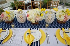 Photo Shoot : mix of textures + patterns for Modern NauticalInspiration - Brenda's Wedding Blog - unique daily wedding blogs from Best Wedding Sites for brides & grooms