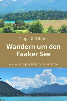 Wandern um den Faaker See in Kärnten: Hier gibt es Tipps für einen Urlaub in Österreich und viele Bilder von meiner Wanderung. Homeland, Austria, Outdoor, Mountains, Nature, Travel, Photo Mural, Hiking Trails, Road Trip Destinations