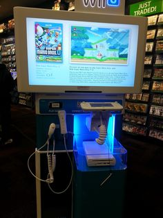 TWiNE: Wii U units now on display in stores!