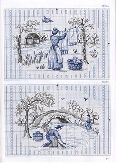 kanaviçe - cross stitch