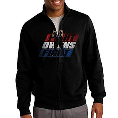PooM Mens Zipup Jacket Hooded Sweater Kevin Owens Fight Owens Fight 4 Size XL Black *** See this great product. (This is an affiliate link) #ExerciseandFitnessMensClothing