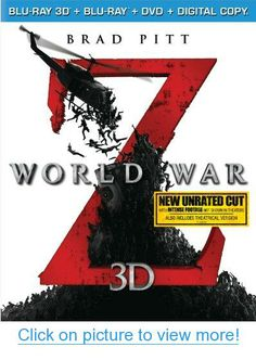 World War Z (Blu-ray 3D   Blu-ray   DVD   Digital Copy)