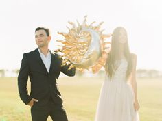 Sun Inspired Engagement Session | Wedding Sparrow | Wedding Nature Photography