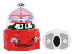 Kid Galaxy Robot Data by Kid Galaxy. $21.91. From the Manufacturer                Have a Robo-good time. The world's only R/C robot for preschoolers features real working lights and cool robotic sounds. Moving eyes add animation to your robo friend while it moves forward and spins with the easy control of a two button remote. Watch your little one's eyes light up with delight when they play with the My first RC Robot.                                    Product Description      ...