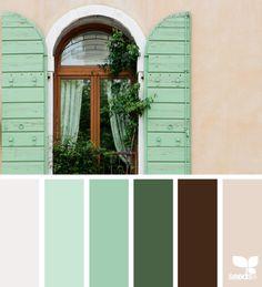 207 Meilleures Images Du Tableau Nuancier Vert Color Combinations