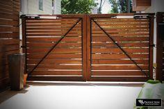 driveway gate?? - always love horizontal lines