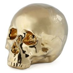 Morton Skull - Gold from Z Gallerie   Concept Candie Interiors now offers virtual online interior decorating services for only $200 per room. #ecommerce #homedecor #interiordesign