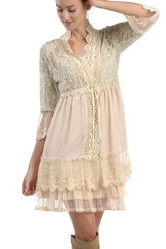One Good Thread - Womens - Lace Detailed Shabby Chic Jacket - Ivory **PRE ORDER**, $76.00 (http://www.onegoodthread.com/womens-lace-detailed-shabby-chic-jacket-ivory-pre-order/)