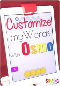 Customize my Words w