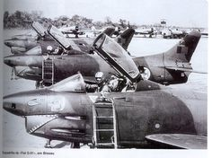 Portuguese Air Force Fiat G-91 squad in Guinea / Guiné - African Colonial War 1970's
