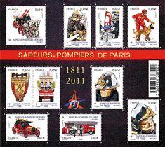 Sapeur-pompiers de Paris 1811-2011 - Timbre de 2011