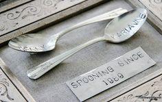"diy ""spooning since"" signs!"
