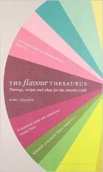 The flavour thesaurus examines what food goes with what, and why. listing 99 popular ingredients alphabetically, and for each one suggesting flavour matchings that range from the classic to the bizarre.