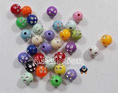 bolas con diamante de imitación 8mm