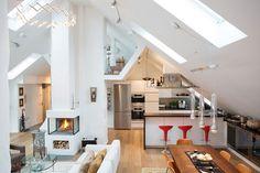 A Bright Loft in Kungsholmen