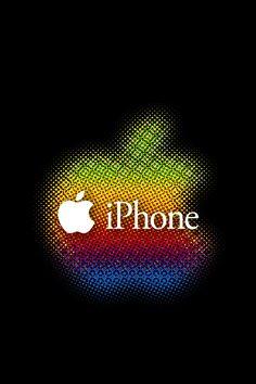 BLACK APPLE スマホ用壁紙(iPhone用/640×960) | WallpaperBox