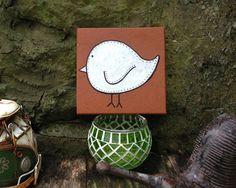 Just a bird for the garden Original Monts by #Elsiedrew
