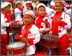 Philippines drums