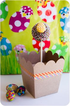 Cake Pop con huevo